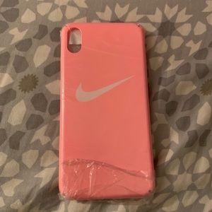 iPhone XS Max Nike phone case (pink)